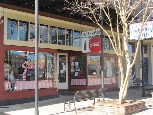 Visit Janie's Pastry Shop for delicious treats