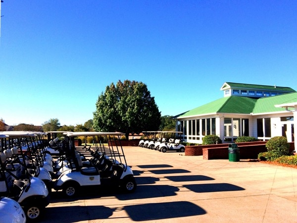 Fantastic clubhouse and golf course at Patrick Farms