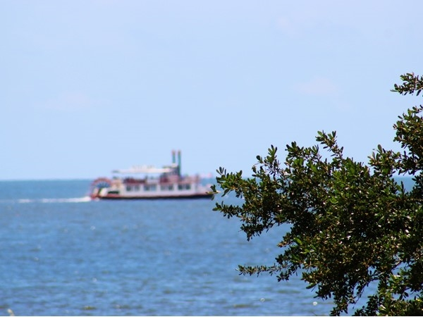 One of the many things to do is to take a dinner cruise along the Coast on this riverboat