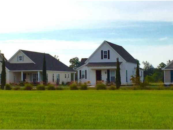 The beautiful cottages at Legacy subdivision