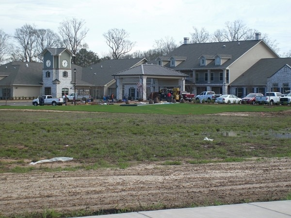 The new Claiborne Senior Living Development in McComb