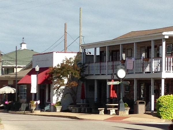 Old town Olive Branch is full of antiques and old time shopping