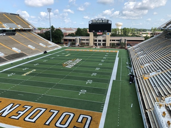 Univeristy of Southern Mississippi Stadium