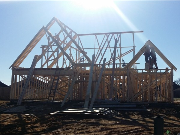 New home construction in Desoto County includes a mix of smaller, mid-size and larger homes
