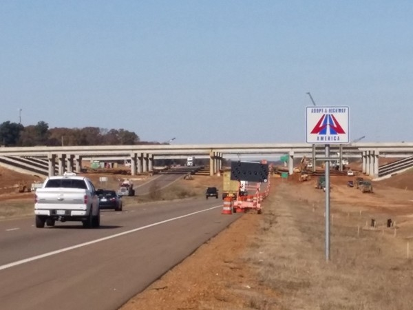 Interstate 69 project which goes through Desoto County is the largest road project in the U.S.